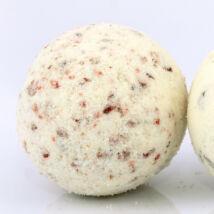 Fürdőgolyó organikus shea vajjal, áfonyával és vanillia illóolajjal 90g