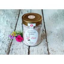 Fürdősó parajdi, organikus geránium illóolajjal és rózsaszirmokkal 350g