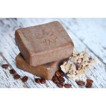 Natúr szappan -Kávé, kókusz olajjal és vanilia kivonattal 120g