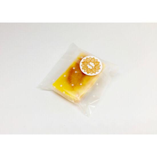 Natúr szappan - Narancs, édes narancs illóolajjal és friss narancslével 30g
