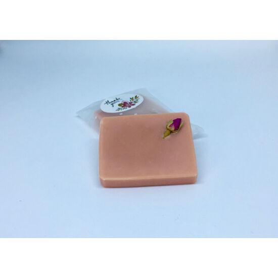 Natúr szappan - Díszített rózsa 50g