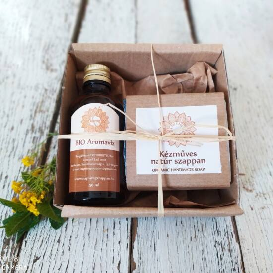 Napvirág csomag Tini arctisztító, bőrnyugtató, gyulladt, aknés bőrre 2 termékkel