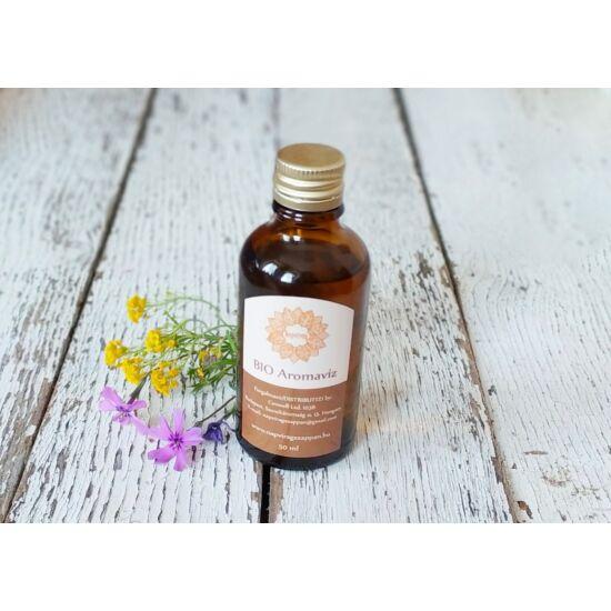 Test-, és arcpermet bőrregeneráló, gyulladás csökkentő BIO aromavíz Római Kamilla 50 ml