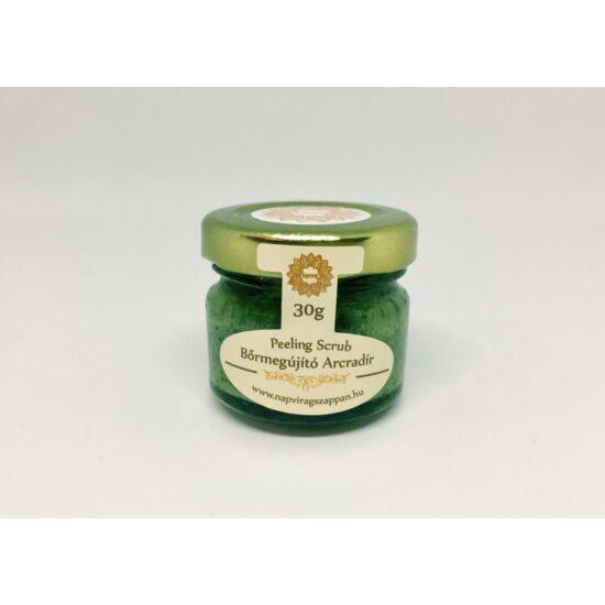 Arcradír Menta-citromfű, parajdi sóval, organikus szőlőmag-, mandula- és olíva olajjal 30g