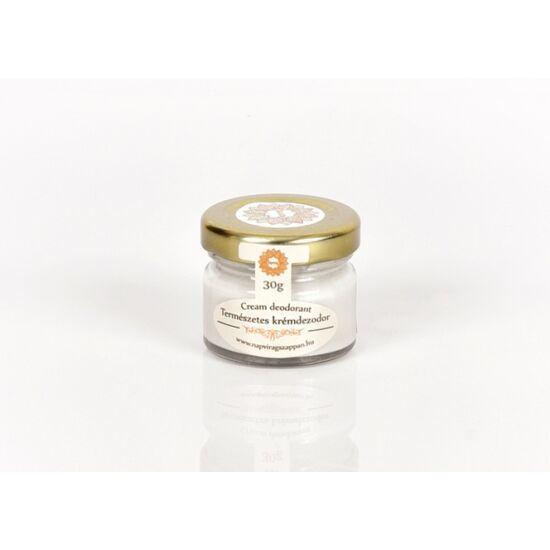 Frissítő krémdezodor extra szűz kókuszolajjal citromfű-teafa illattal 30g