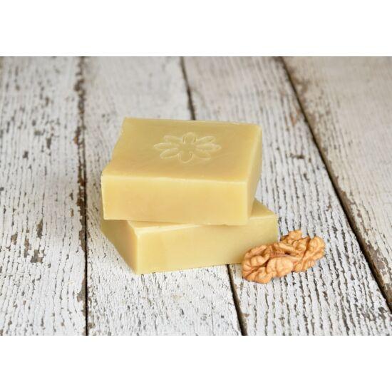 Natúr szappan - Hajmosó, organikus ricinus-és dió olajjal, citrom illattal 120g