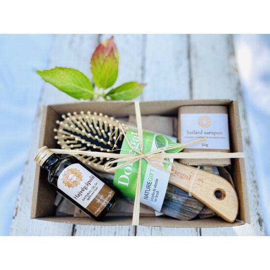 Napvirág ajándék válogatás egészséges fürtök 3 termékkel