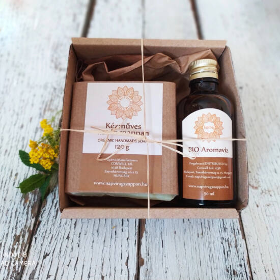 Napvirág hajápoló csomag 2 termékkel