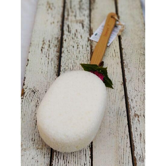 Hátmosó szivacs prémium Donegal, 43 cm-es fa nyéllel