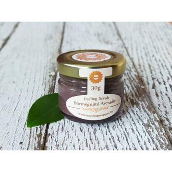 Arcradír rózsás parajdi sóval, organikus szőlőmag-, mandula- és olíva olajjal 30g