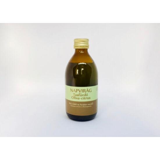 Natúr szappan - Tusfürdő Bio olíva olajjal, Olíva- citrus illattal 300g