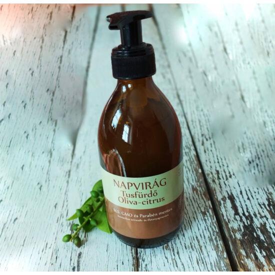 Tusfürdő natúr,  Bio olíva olajjal, Olíva- citrus illattal 300g