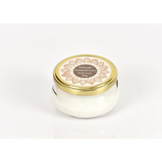 Testápolókrém ligetszépe olajjal, E vitaminnal vanilia és ylang-ylang illattal 160g
